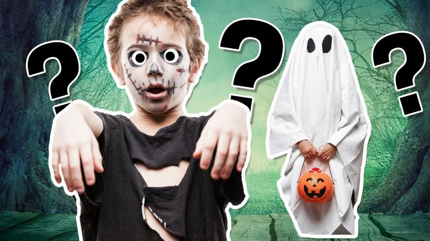 A Halloween monster quiz