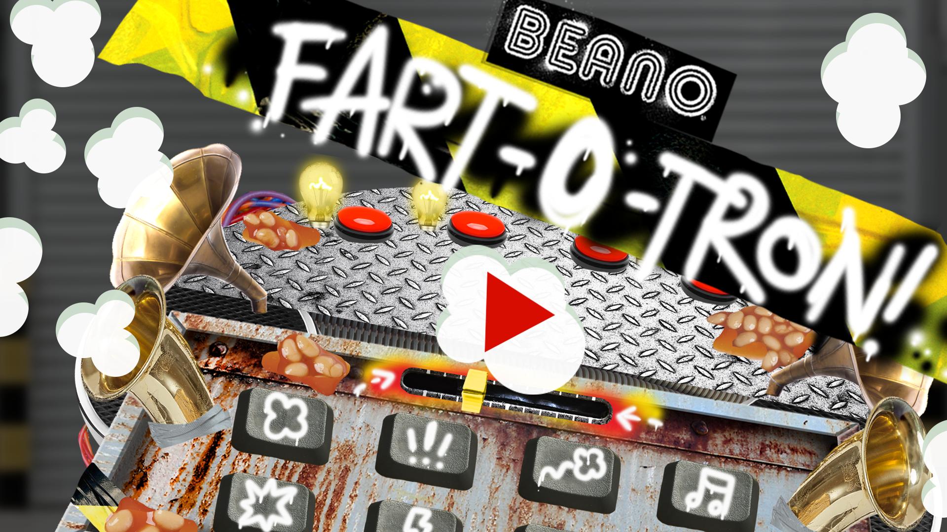 Fart-O-Tron Fart Sounds Button