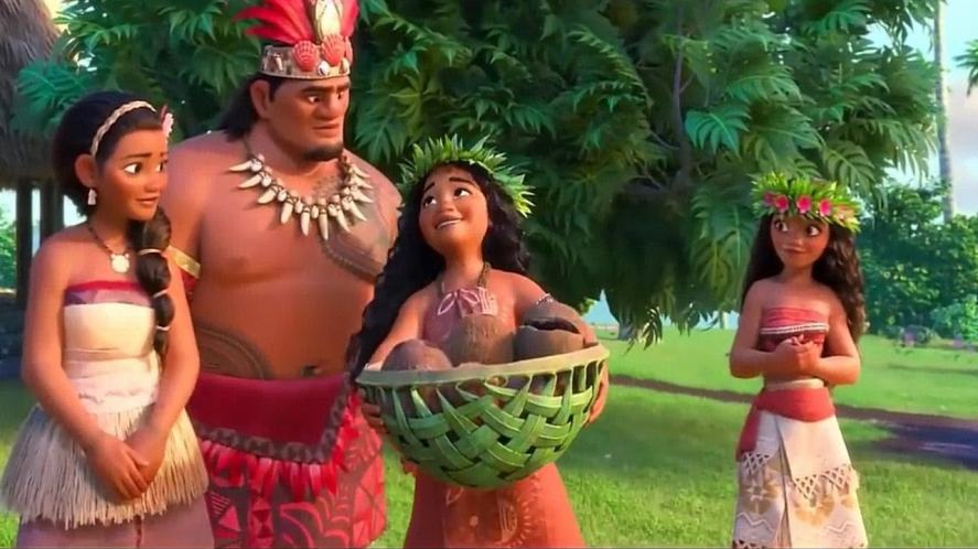 Moana's parents