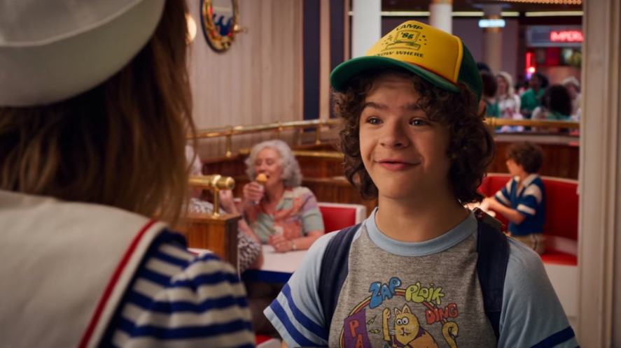 Dustin in Stranger Things