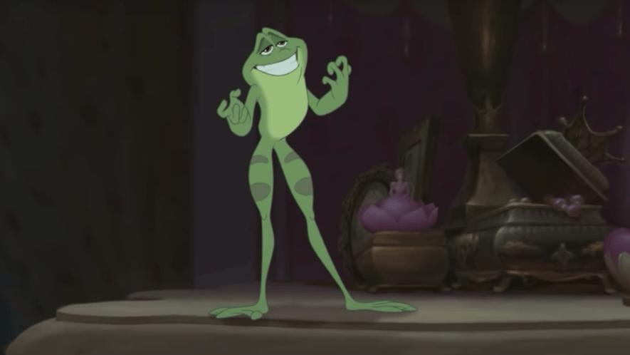 Disney frog
