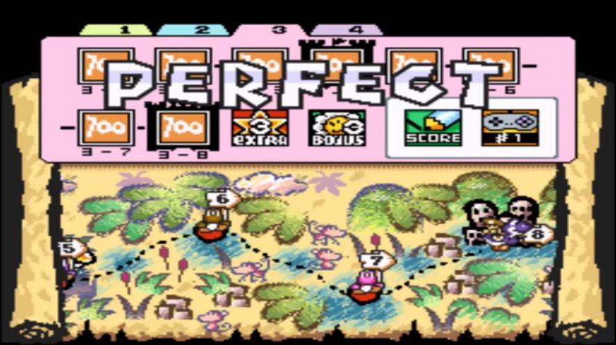 The sequel to Super Mario World