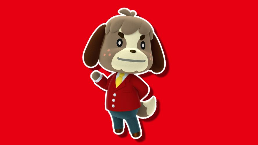 Animal Crossing: Happy Home Designer character Digby