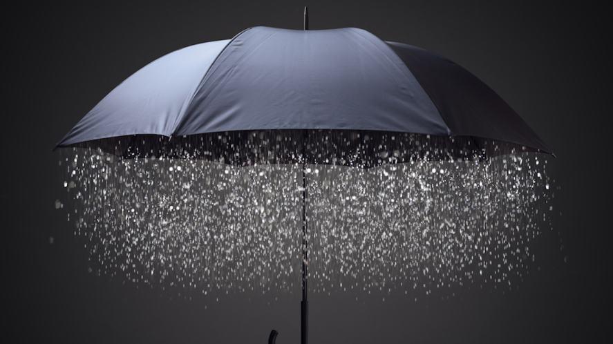 A faulty umbrella