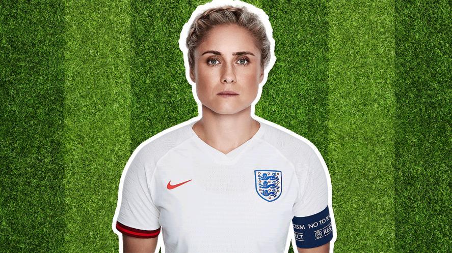 England player Steph Houghton
