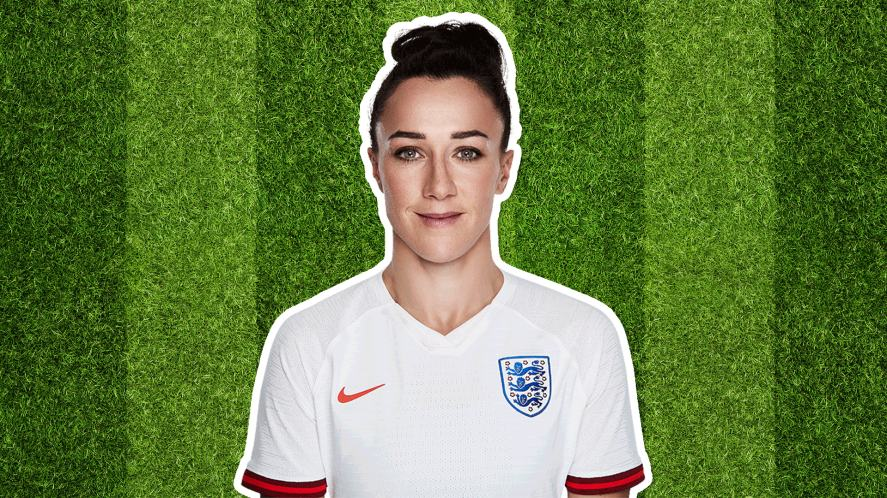 England player Lucy Bronze