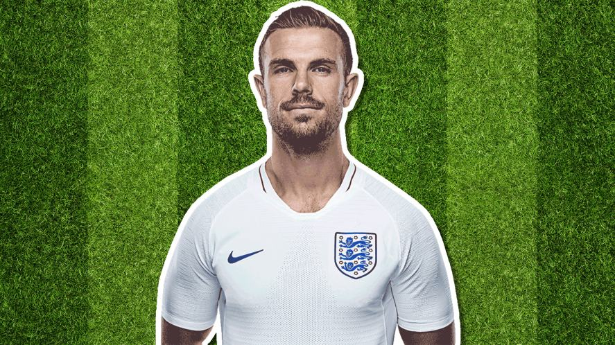 England player Jordan Henderson