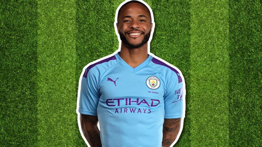 Manchester City player Raheem Sterling