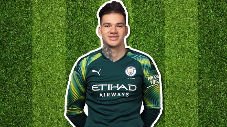 Manchester City player Ederson Santana de Moraes