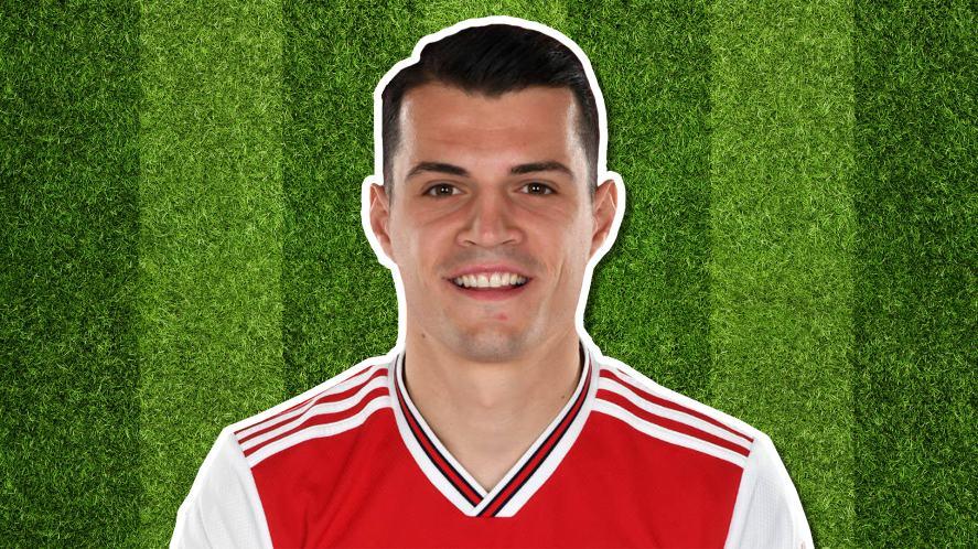 Arsenal player Granit Xhaka