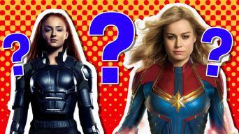 Marvel female character quiz