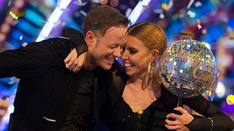 Strictly Come Dancing 2018 winners Stacey Dooley and Kevin Clifton