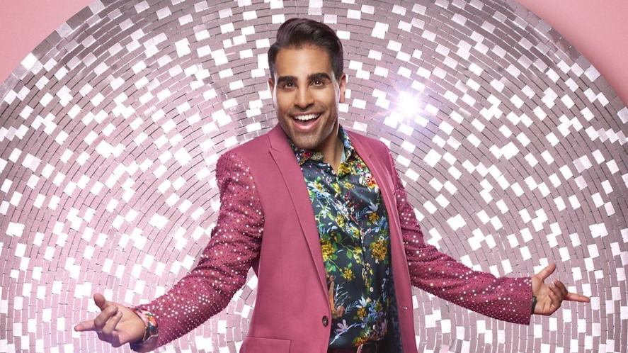 Dr. Ranj Singh on Strictly Come Dancing