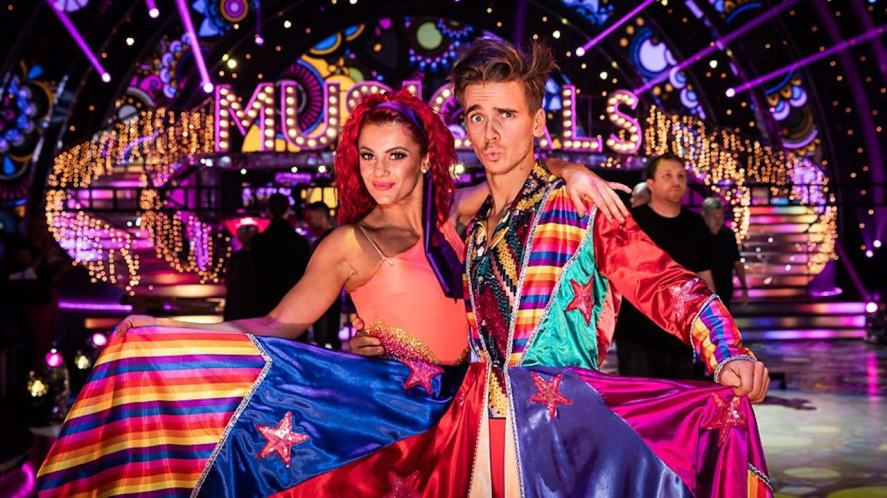 Joe Sugg and Dianne Buswell on Strictly Come Dancing 2018
