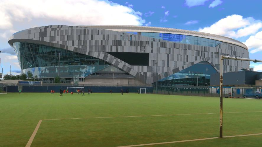 The home of Tottenham Hotspur