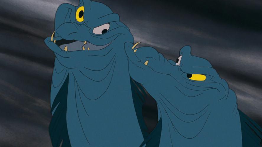 Two creepy eels
