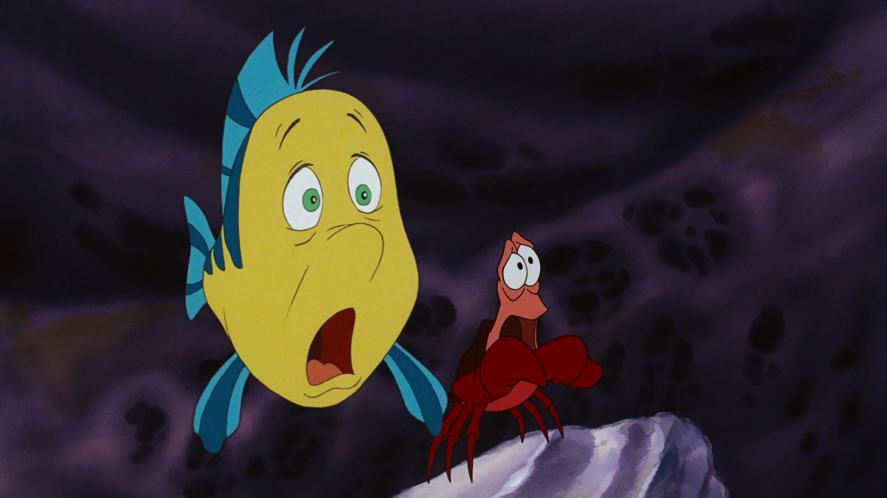 Flounder and Sebastian