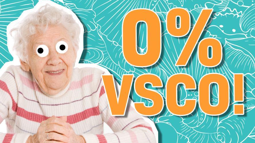0% VSCO