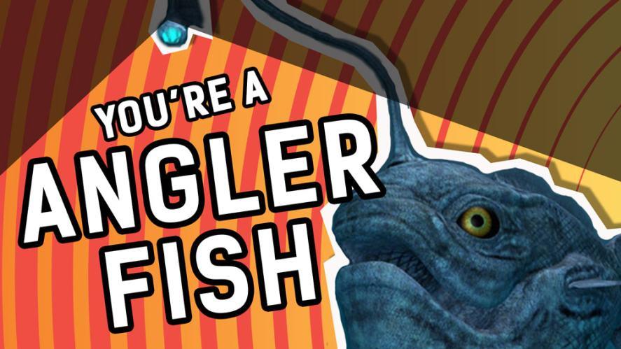 Deep like an angler fish