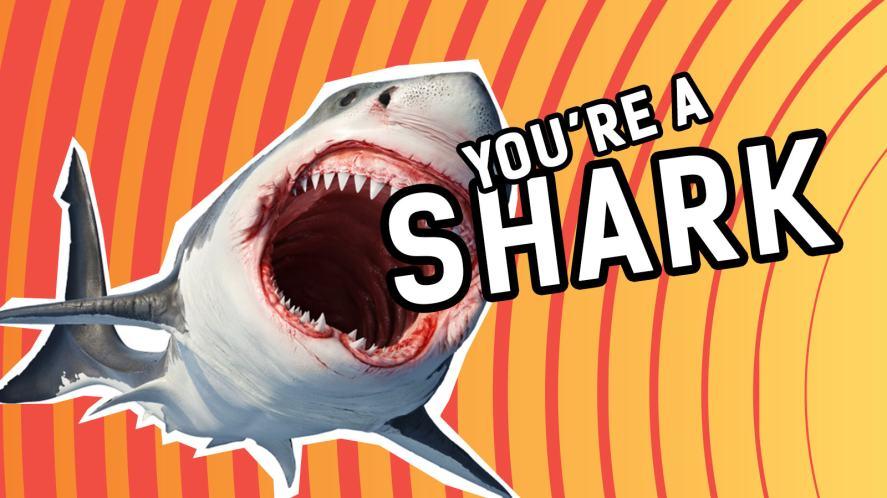 You're a shark do do dodoo doodoo!