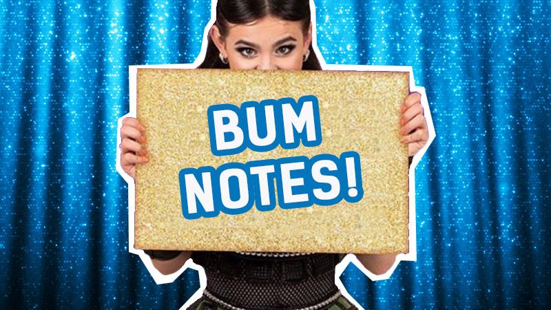 Bum notes!