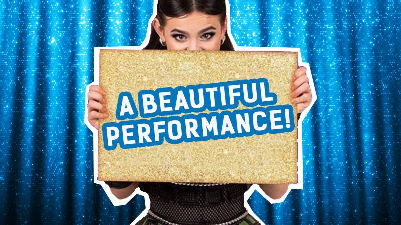 A beautiful performance!