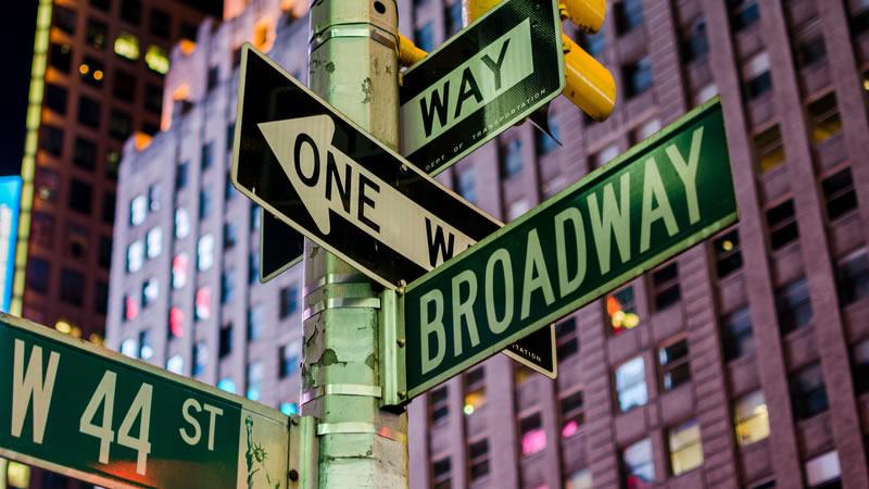 On Broadway!!