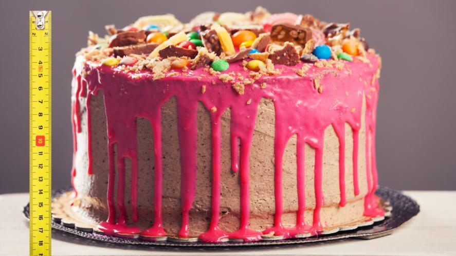 A massive cake
