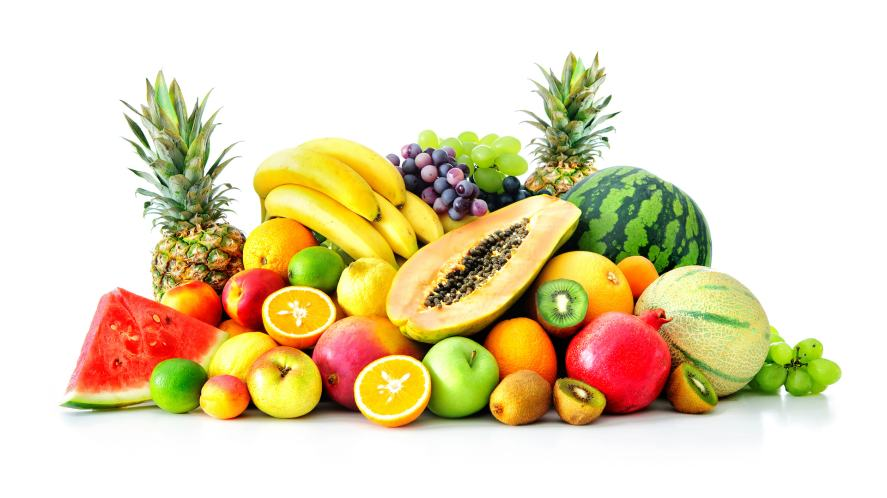 Lots of delicious fruit