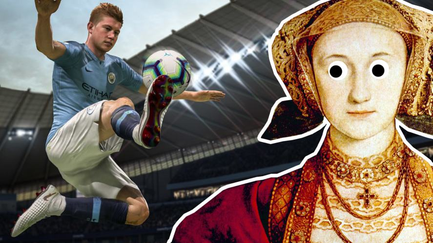 Catherine of Aragon and FIFA 19