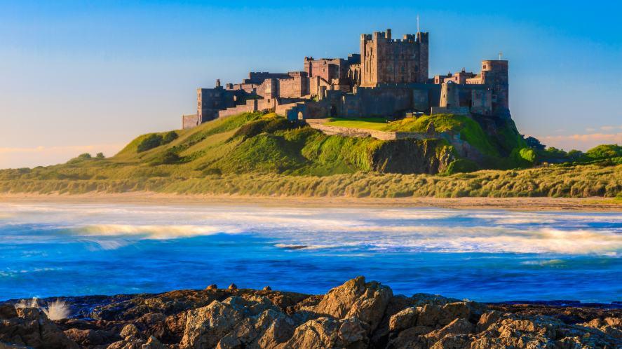 A Northumbrian castle
