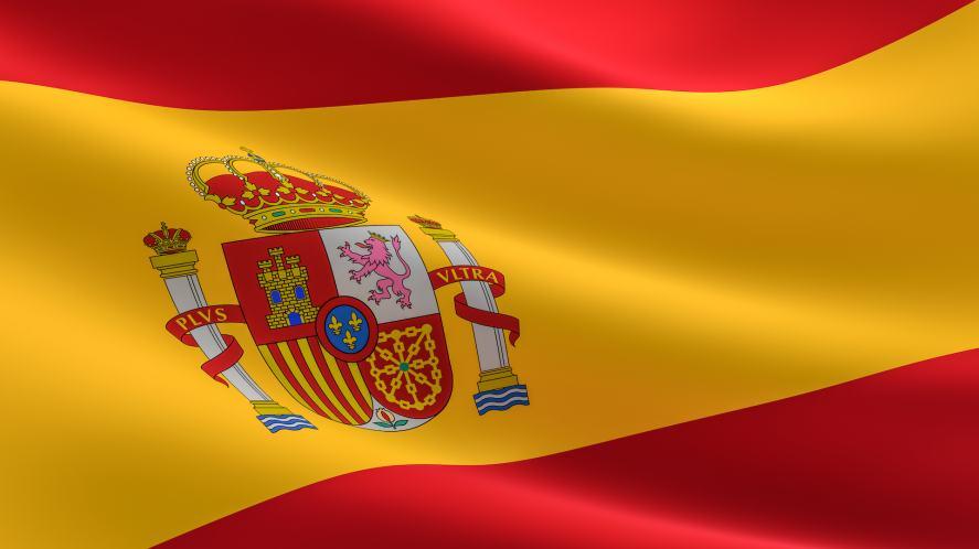 A Spanish flag