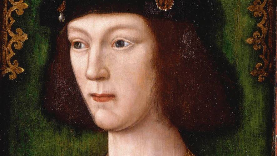 A portrait of a young Henry VIII