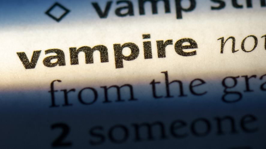 Vampire in the dictionary
