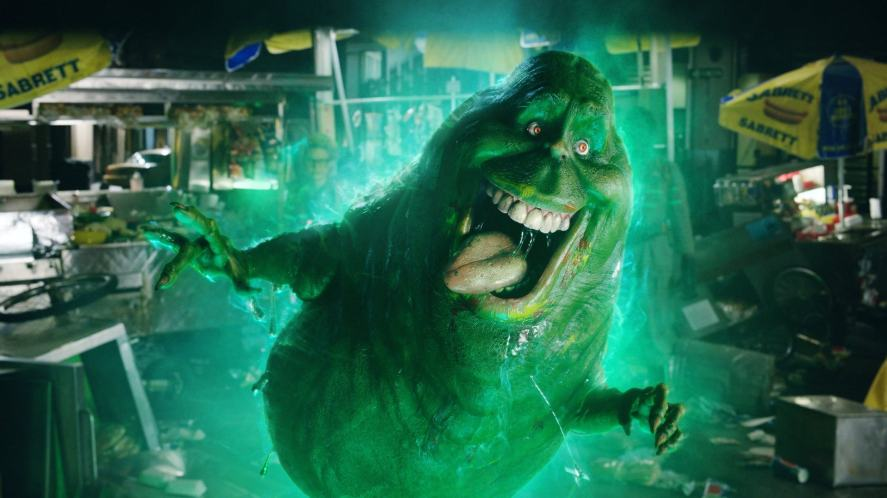 A ghost in the 2016 film, Ghostbusters