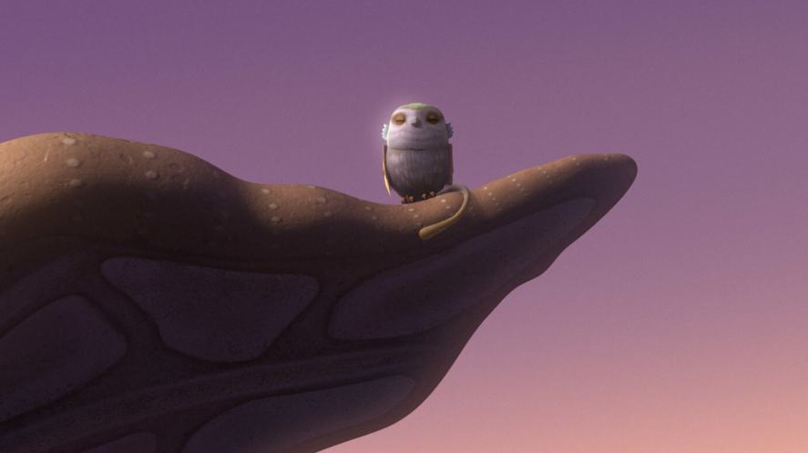 An owl-like creature