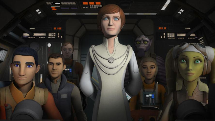 A scene from Star Wars Rebels