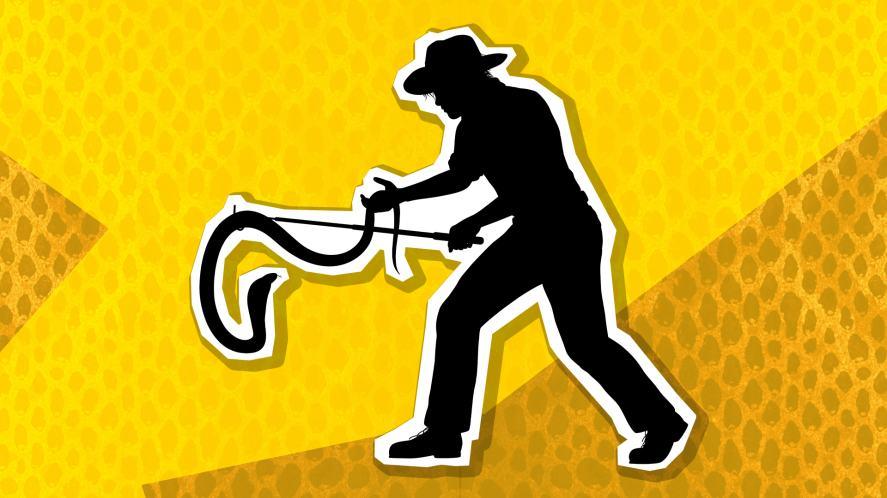 A snake handler