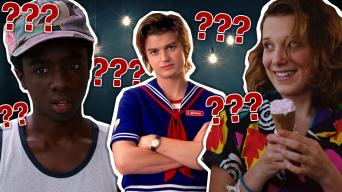 Stranger Things personality quiz