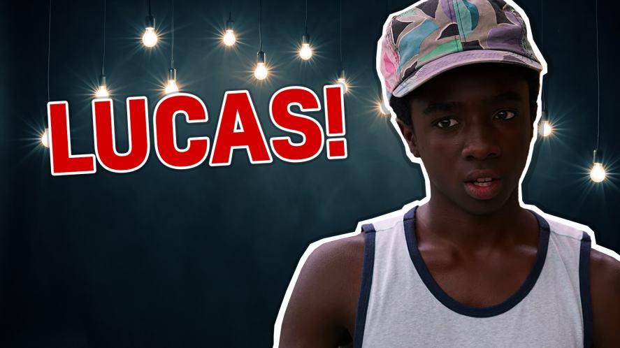 Lucas Sinclair in Stranger Things