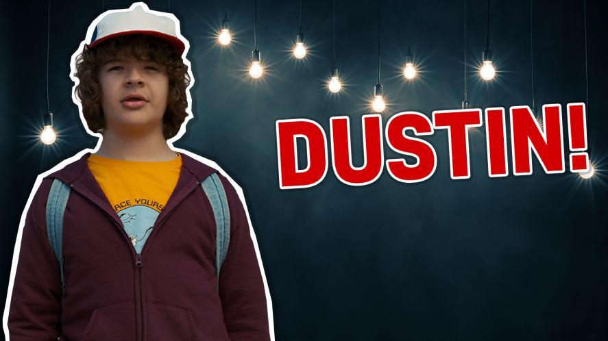 Dustin Henderson in Stranger Things