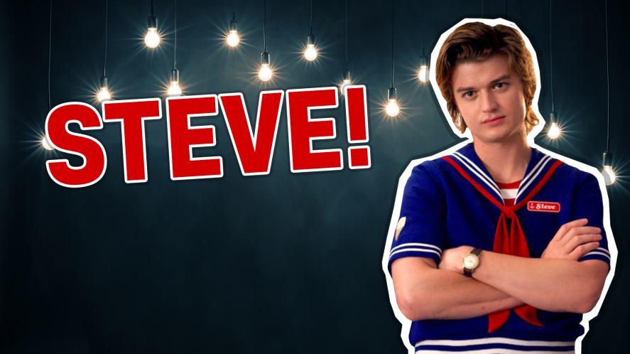 Steve Harrington in Stranger Things