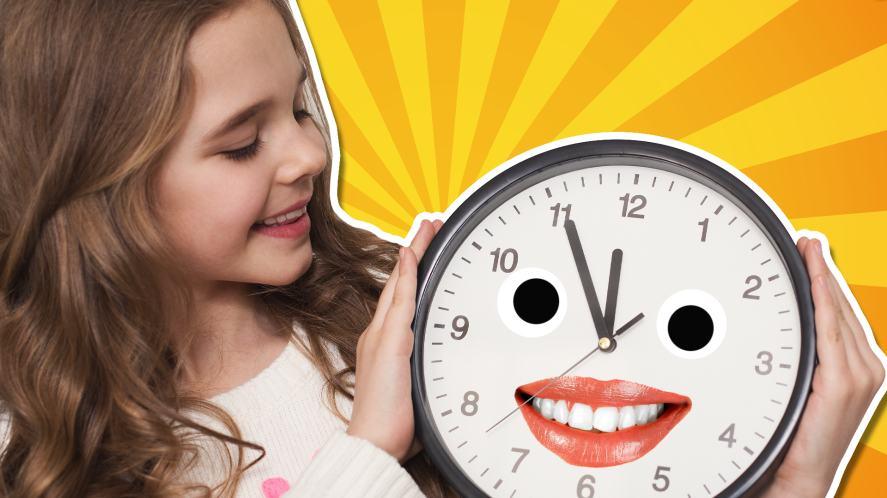 A talking clock