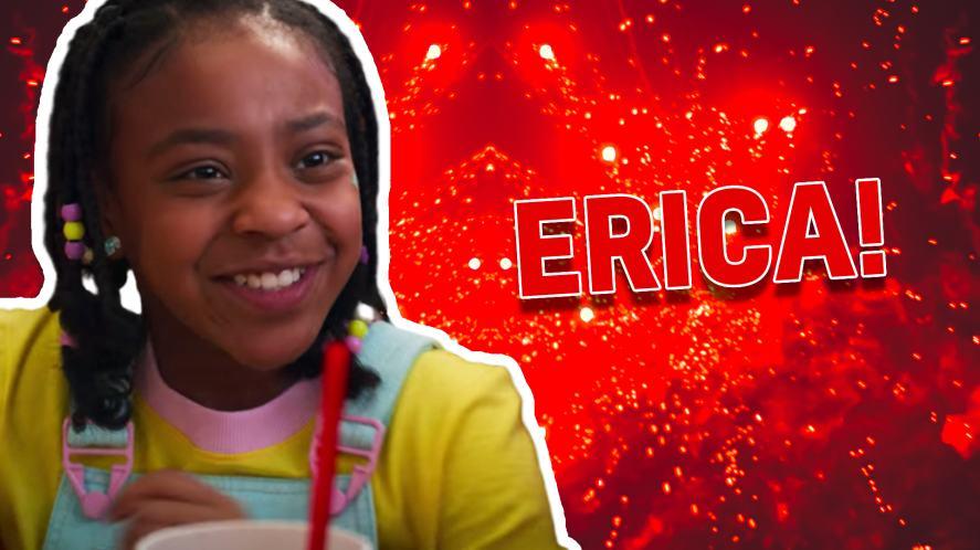 Erica in Stranger Things