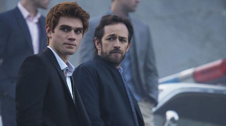 Archie Andrews and his dad