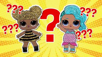 LOL doll Queen Bee and Splash Queen quiz