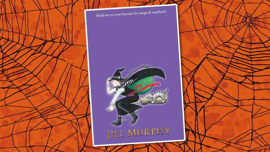 The cover of Jill Murphy's first witch book