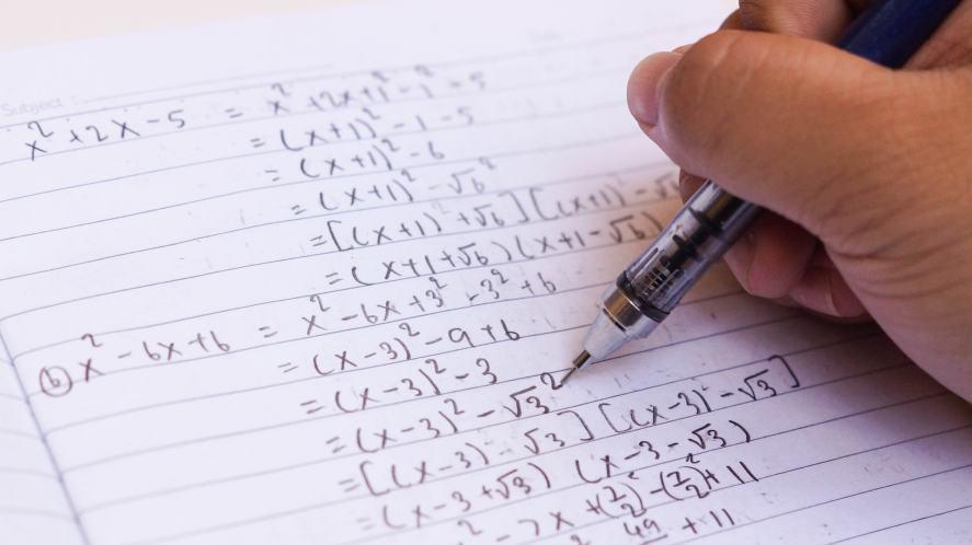 Some maths homework