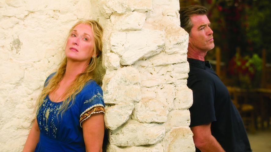 A scene from Mamma Mia!