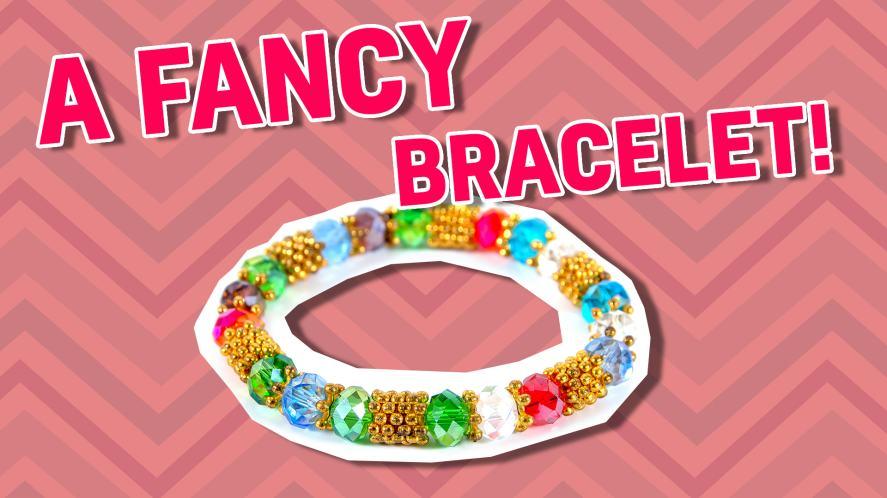 A fancy bracelet